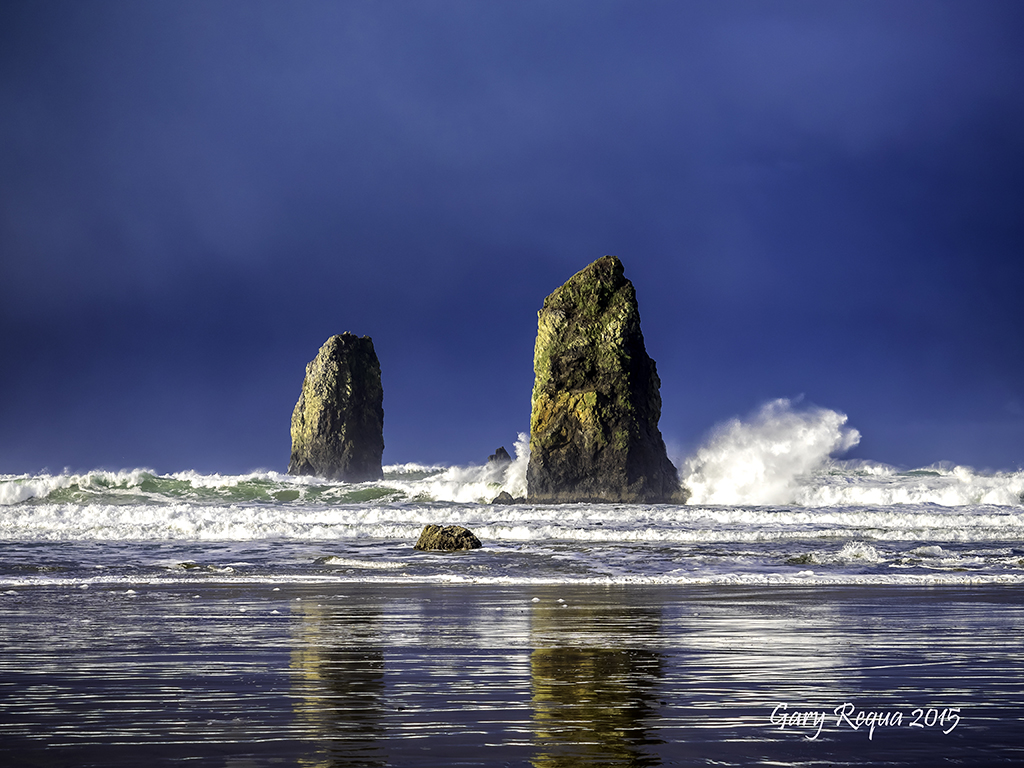 Ever getting tired of looking at beautiful Oregon coast?